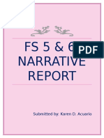 FS 6 Narrative