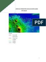 Tugas Delineasi Struktur Geologi Peta DEM Ungaran