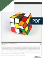 Erno Rubik Inventa El Cubo Mágico