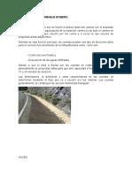 Estructuras de Drenaje Efimero