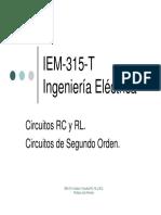 IEM-315-T Unidad I-2. Circuitos RC, RL y RLC