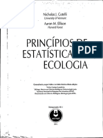 Princípios de Estatística Em Ecologia - Gotelli, Nicholas J. Ellison, Aaron M.