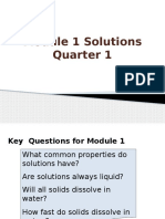 Module 1 Solutions