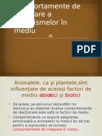 Comportamente de integrare a organismelor în mediu.pptx