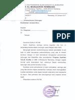 Surat Permohonan Dukungan