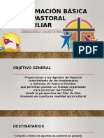 Programa de  Formación en Pastoral Familiar
