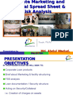 Presentation on Spread Sheet Analysis -20080524
