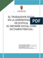 El Trabajador Social en La Administración de Justicia. El Informe Social Como Dictamen Pericial.