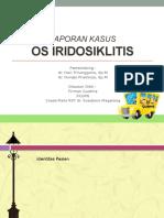 Laporan Kasus OS Iridosiklitis Firman