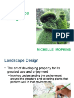 Rules and Regulation of Landscape Design