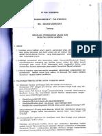 Edaran Direksi Tentang Pju Tahun 2002