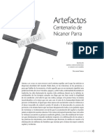 Artefactos. Centenario de Nicanor Parra