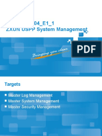 ZXUN USPP Maintenance Tools(System Management