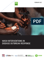 WASH Interventions in Disease Outbreak Response