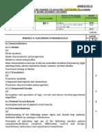 Syllabus Electronic Fundamentals Mod b1