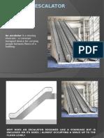Design of Escalator