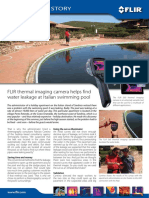 Application Story - Underground Water Leakage - Swimming Pool