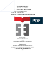 (ITTelkom PWT) Laporan Praktikum Rangkaian Listrik Modul I - IV