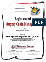 Handout - Supply & Chain Management - Nyoman Pujawan