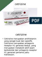 cetrizine obat
