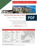 Croaziera Brizele Mediteranei