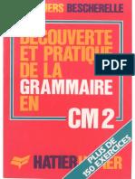 Bescherelle, Découverte et pratique de la grammaire au CM2 (1986)