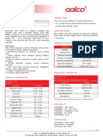 Aalco Metals Ltd Aluminium Alloy 6060 T5 Extrusions 144