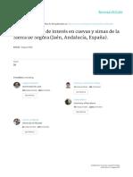 2016 - Invertebrados Cuevas y Simas Sierra Segura - ABOLAFIA Et Al