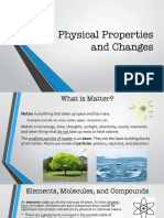 physical properties and changes pp