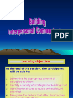 Building Interpersonal Communication