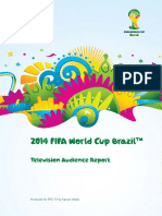 2014 Brazil World Cup TV Audiences Report