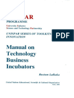Technology Business Incubator Manual