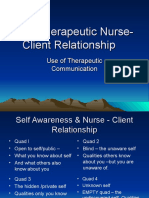 2 The Therapeutic Nurse-Client Relationship.ppt