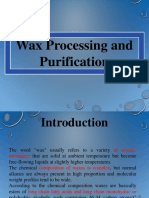Chapter 3 Wax Processing and Purification(6)