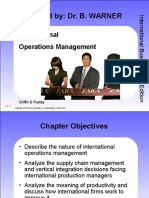 MBA2 IB Lecture Seven Presentation International Operations