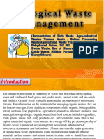 Biological waste management  (Fermentation of Fish Waste, Agro-Industrial Wastes Tomato Waste , Cotton Processing Waste Agricultural, Waste Treatments, Waste of Dehydrated Onion, Oil Mill Effluent Disposal Swine Waste, Use of Manure Poultry Waste , Cattle Waste, Milking Parlour Wastewater, Pig Slurry Odours)