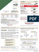 Manual Sensores de Nível Lateral - Montagem Interna
