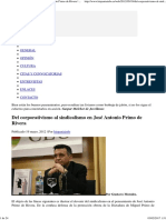 Del Corporativismo Al Sindicalismo en José Antonio Primo de Rivera _ Hispaniainfo