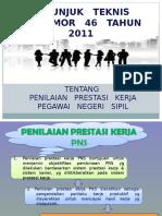 Juknis Pp 46th 2011 Penilaian Pns