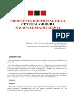 Propuesta Doctrinal de La CONS