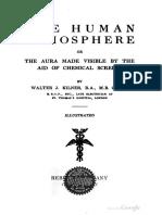The Human Atmosphere Walter J Kilner