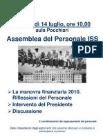 Assemblea ISS del 14.07.10 - La locandina