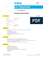 Ea03 Uniservice Global Rust Remover Techinfo-sds