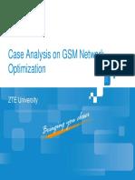 10 GSM Case Analysis on GSM Network Optimization