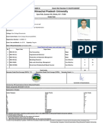 Grade Card