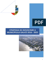 Strategie 2016-2025 (Galati)