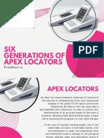 Six Generations of Apex Locators