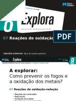 7 - Reações de Oxidação-redução