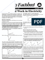 Graphical Work in Electricity