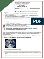 Examen de Admision Grado Sexto Ciencias